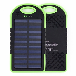 hot selling products for 2016 solar power bank 5000mAh