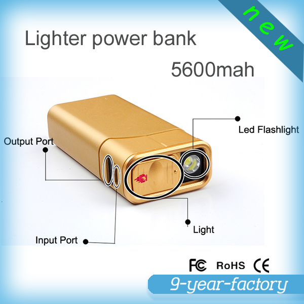 toptai lighter power bank