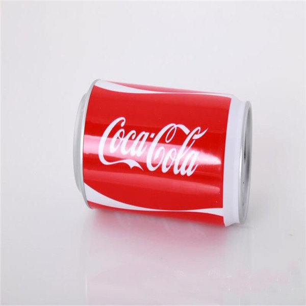 High quality Mobile power bank 2600mah cola Can shape portable power pack