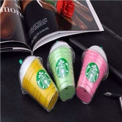 Starbucks cup shape 5200mah power bank battery charger for mobile phone