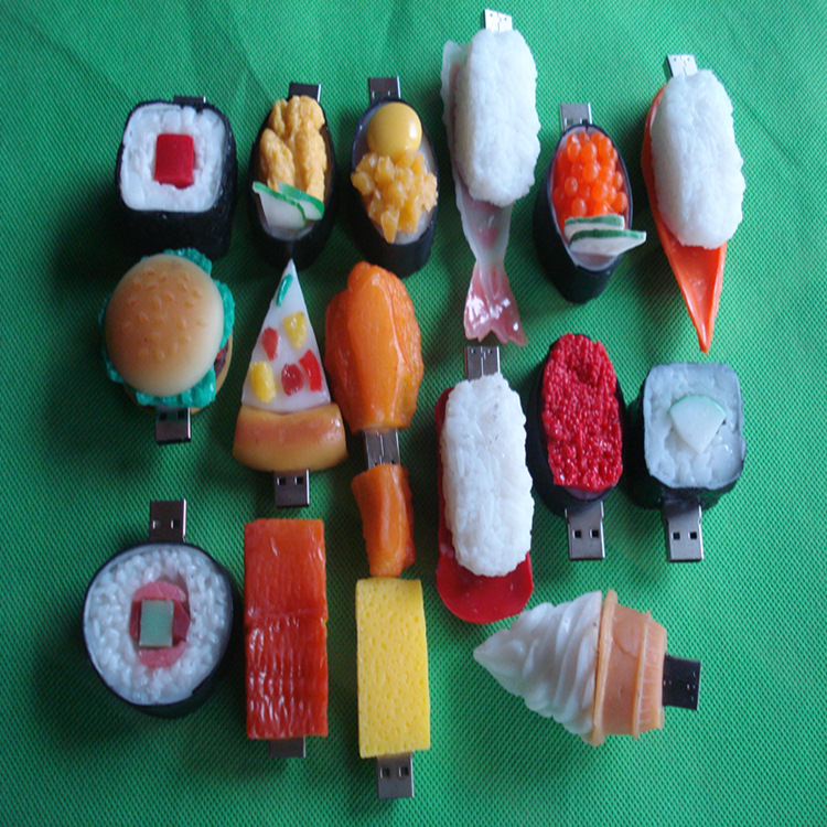 Japanese food usb pendrive sushi shape flash pen drive oem usb flash pendrive