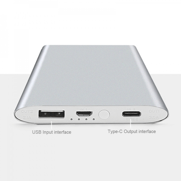 Power Bank Type-c Output Quick Charging For iPhone 5s For Android and Tablets PowerBank
