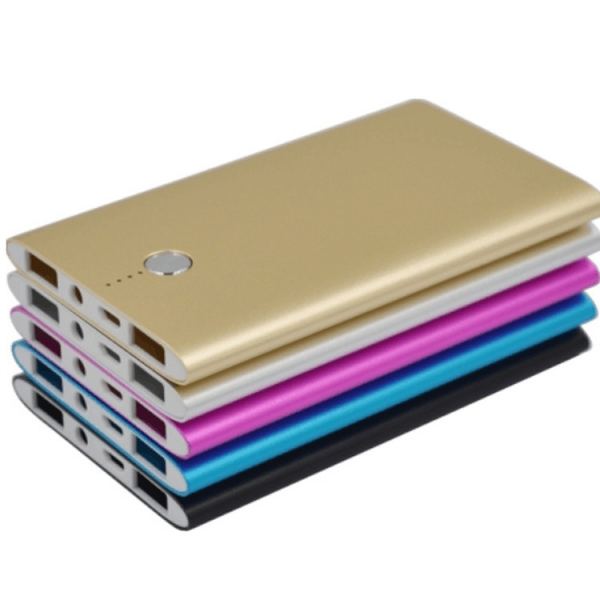 8000mah Aluminum High Speed Compact External Battery Pack Charger for iPhone