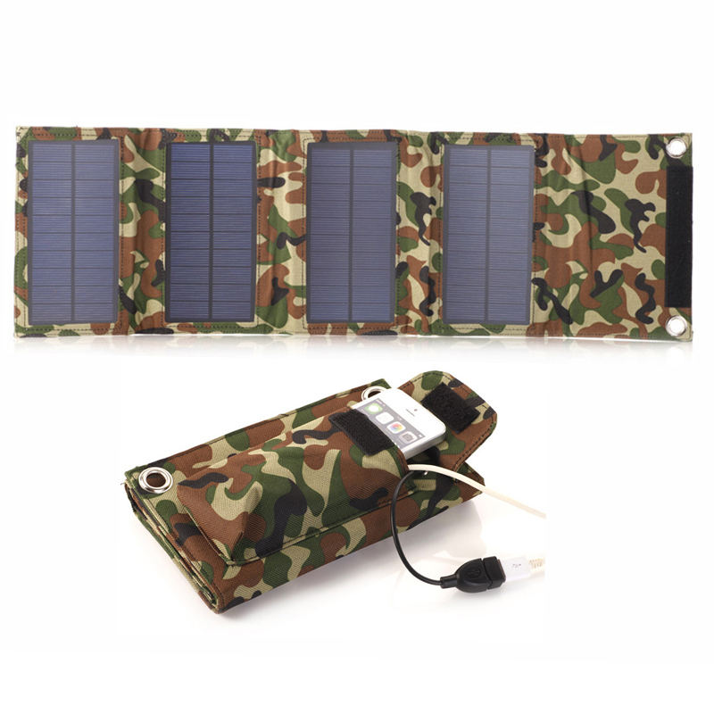Flexible-Solar-Panel-Charger-8W-USB-Battery-Foldable-Folding-Solar-Battery-Solar-Power-Bank-Mobile-Charger