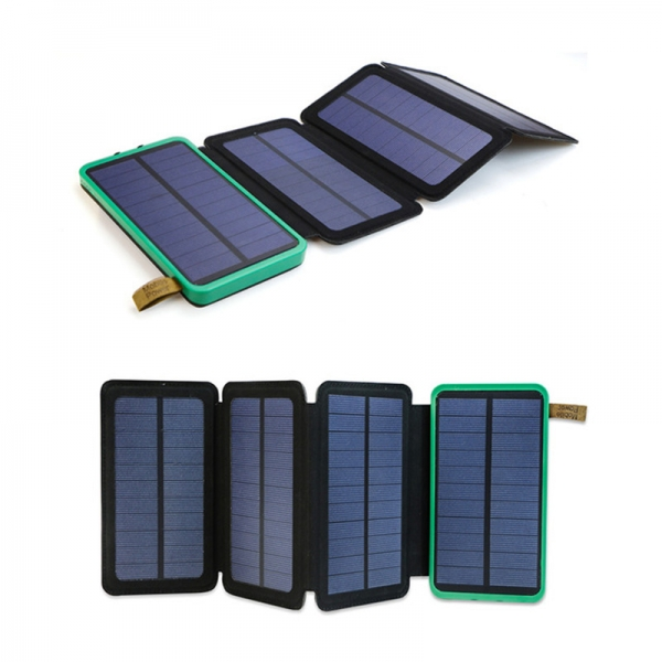 Power Bank With Foldable Solar Panels
