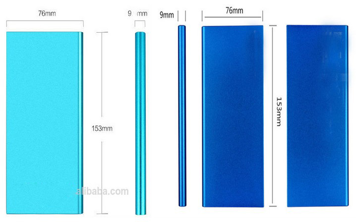 Rohs Power Bank 10000mah Slim Power Banks 10000mah