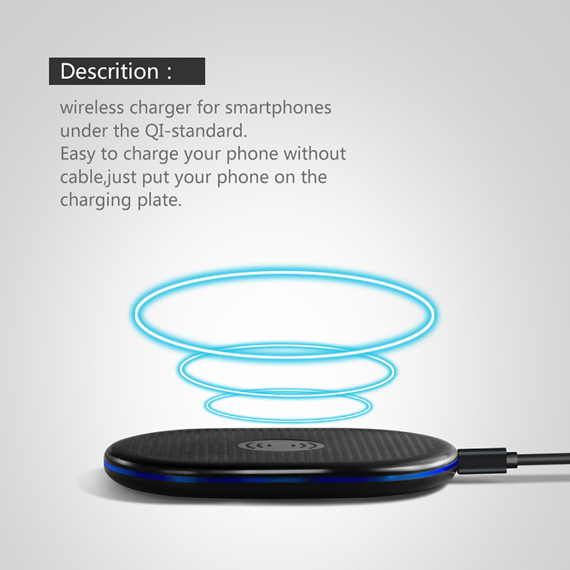 Portable mobile universal QI fast Wireless Charger