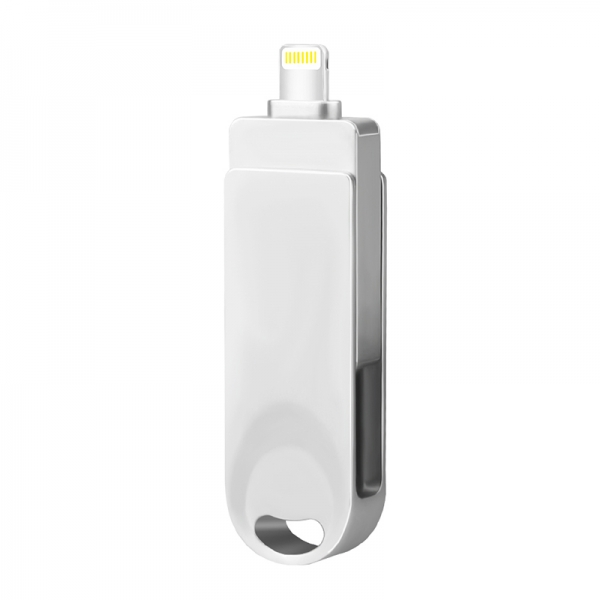 Newest Lightning Flash Drive 3-in-1 USB Memory Stick OTG U Disk Data Extended Connector for iPhone, iPad, Mac, Android