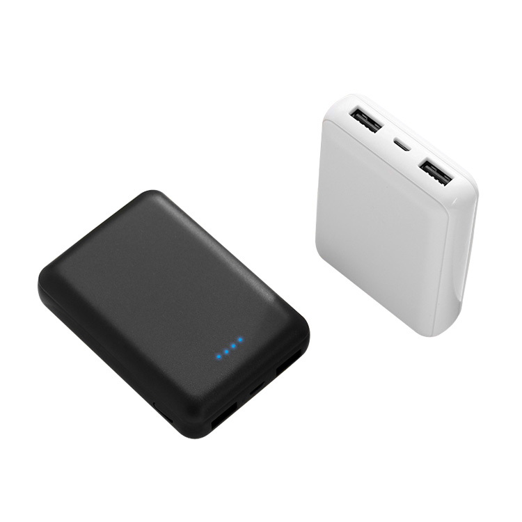 10000mAh Safe Efficient Fashion 2 USB OUTPUT Power Bank For Smart Phones