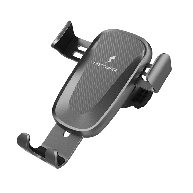 Gravity Car Mount Qi Wireless Charger Fast Charge Pad Holder Stand