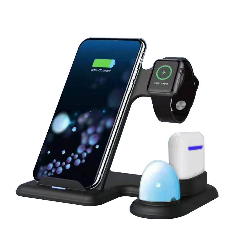 WL060-Multifunction 4 in 1 wireless charger