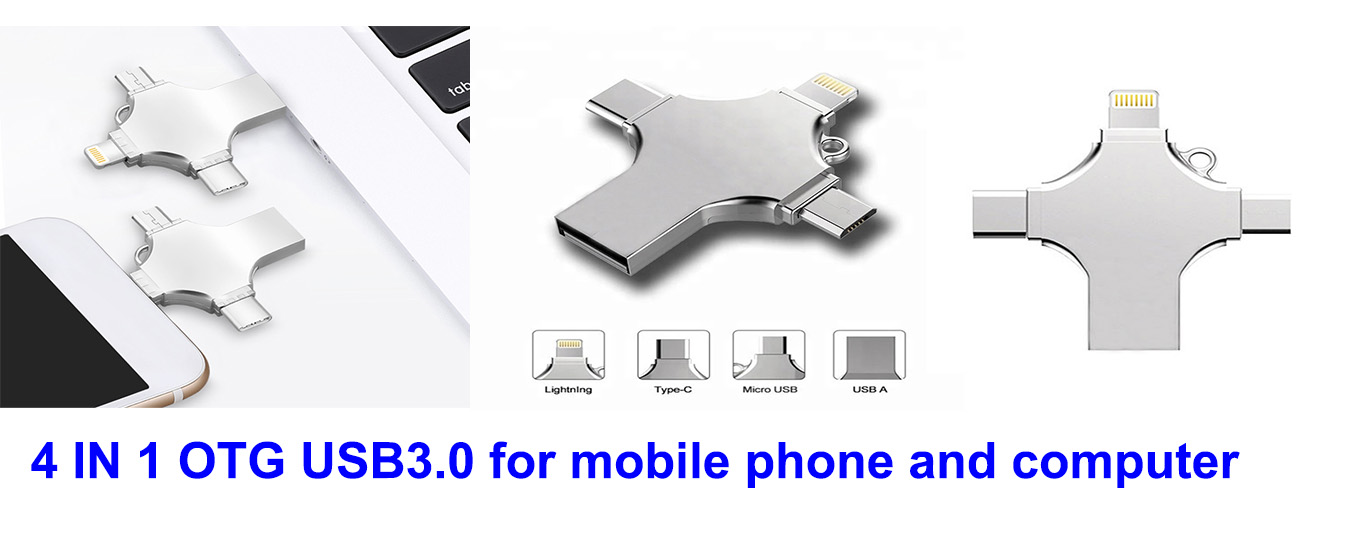 4 in 1 OTG USB Flash Drive