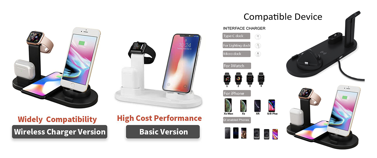 Multifuction wireless charger